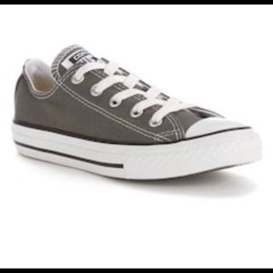 Converse Gray Youth Sneakers All Star Shoes Boy 3